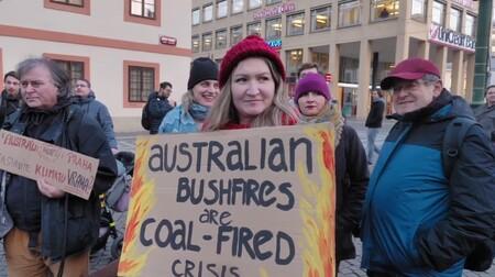 Aktivisté vyjádřili solidaritu s Austrálií, zkritizovali politiky
