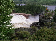 Tupatukasi Waterfall, Broadback River, Quebec
