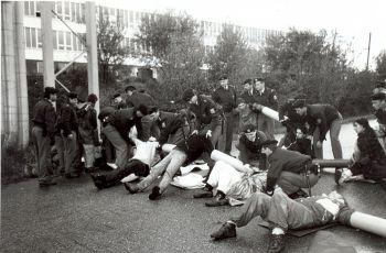 Blokáda Temelína v říjnu 1995