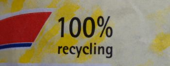 100 % recycling