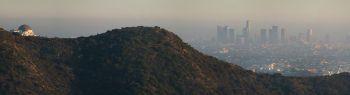 Znečištěné ovzduší nad Los Angeles