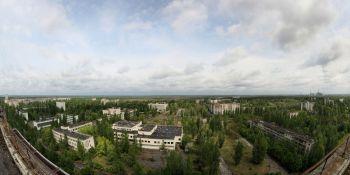Ukrajinské město Pripjať