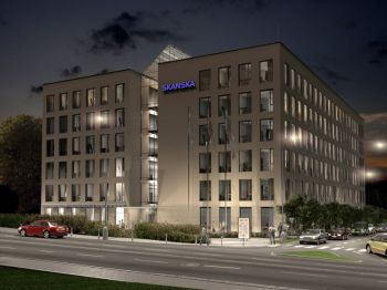 Kancelářská budova Nordica Ostrava s certifikátem programu GreenBuilding.
