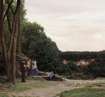 Beate Gütschow: LS#15, C-Print, 105 x 113 cm, 2002