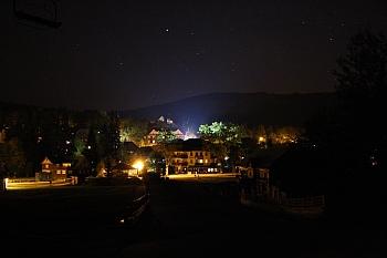 Harrachov v noci