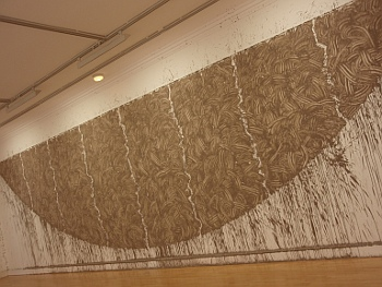 Richard Long, oblouk z bahna Firth of Forth