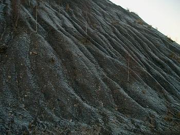 Tuchlovický odval po těžbě černého uhlí