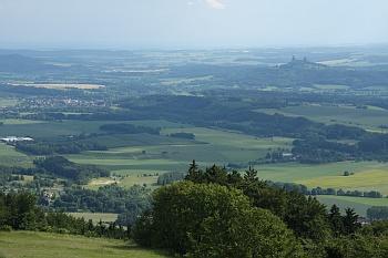 Pohled na Trosky z Kozákova