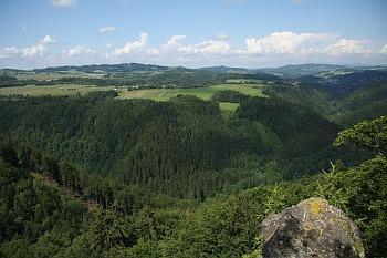 údolí Jizery u Spálova