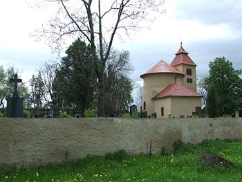Rotunda sv. Petra a Pavla na Budči u Zákolan, okres Kladno.