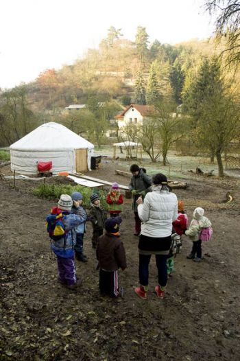 Dětský klub Šárynka - lesní mateřská škola v Praze