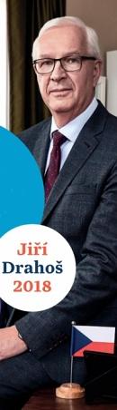 Kampaň: Jiří Drahoš, kandidát na prezidenta 2018. Zadavatel: Jiří Drahoš. Zpracovatel: Whenever sro