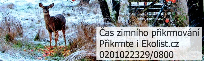 Přikrmte i Ekolist.cz