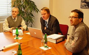 Marian Páleník, Martin Bursík a Libor Štěrba