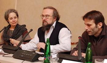 Táňa Fischerová, Petr Kužvart a Martin Mejstřík