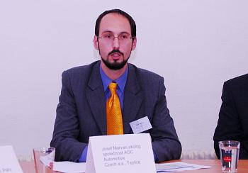 Josef Marvan, podnikový ekolog společnosti AGC Automotive Czech