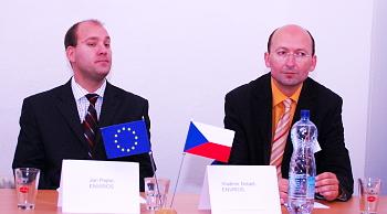 Jan Pejter a Vladimír Dobeš z Envirosu