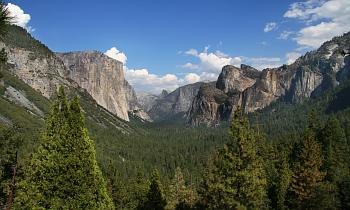 Yosemitský národní park v Kalifornii