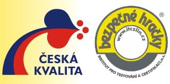 Ochranná známka Bezpečné hračky a Česká kvalita