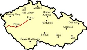 Dálnice d5 mapa