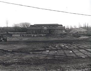 Bývalá průmyslová zóna.