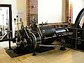 Parní stroj ve staré čistírně